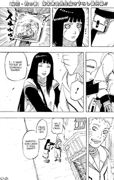 Naruto And Hinata Date After The Last Booklet Pg2 by Darkkitty669