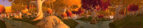 Sunset in Eversong Woods by Wishmasterok