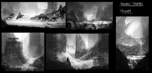 Enviro Thumb Concepts by GeorgeLovesyArt