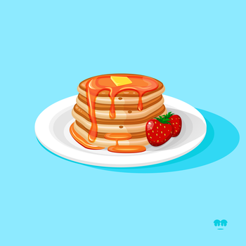 The Love of Pancakes by withloveandheart