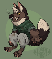 a smol aiden by ForestFright