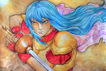 FE challenge: Eirika by X-Tidus-kisses