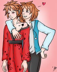 .:ART TRADE:. Elision Brothers by xSparkledust123x