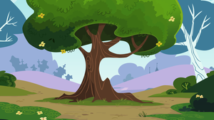 The Park Tree by CloudshadeZer0
