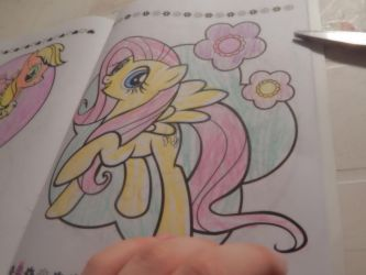 fluttershy color 3 by flickahorses
