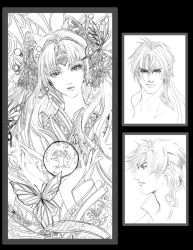 second sketchbook preview page by jiuge