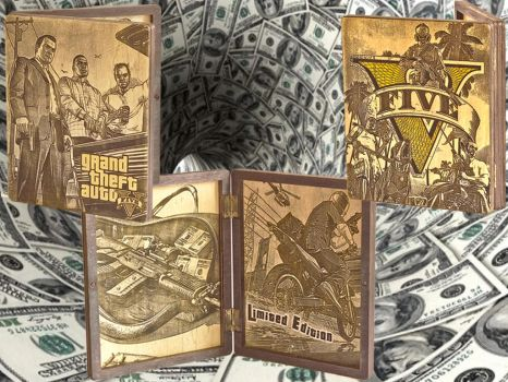 GTA 5 PS3 WoodBox by WoodBoxEdition