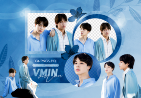 PNG PACK: V and Jimin #1 (BTS 5TH ANNIVERSARY) by Hallyumi