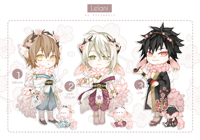 [Close] Auction Lelani set1 by Niola0413