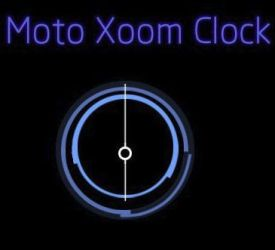 Xoom Clock by XwidgetSkin