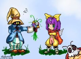 Vivi and Eiko by Zchanning