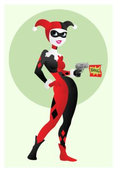 Harley Quinn by Indy-Lytle
