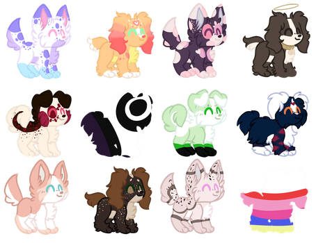Mystery Pups CLOSED TY by Russet-Adopts