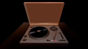 Record Player by CHRYPIE