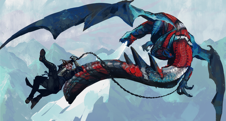 hook and tackle the dragon by le-shae