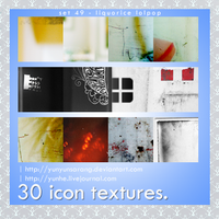 30 icon textures - liquorice by yunyunsarang