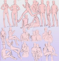 Couple poses and other random ones by may12324