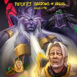 Patch 7.3 Shadows of Argus by azerothin365days