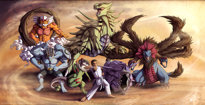 Commission: Alex's Team by ShadeofShinon