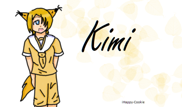 100 Sub Gift: Kimi by iHappy-Cookie