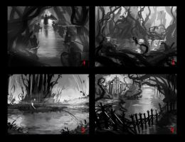Swamp land compos by JordyLakiere