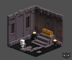 Dungeon Room by WFpeonix