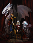 Of Dragons and Kings by Kampfkewob