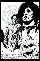 Michael Myers by Tollbooth10