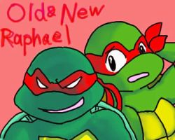 old and new Raphael by koju327