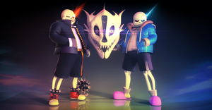 MMD SN-SDver Sans 3d Model DL by 495557939