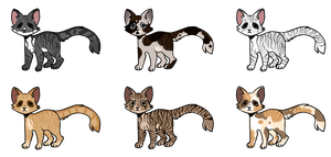 Cheap Warrior Cats Crack Ships 2/6 by LeafeonPrince