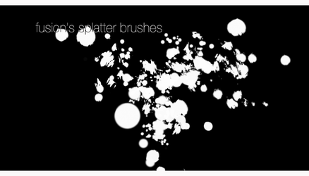Fusion's Splatter Brushes by Fusion-Core