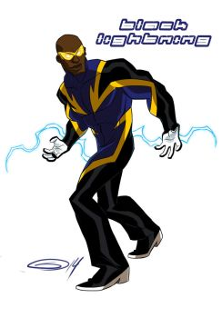 Black Lightning by sketchmasterskillz