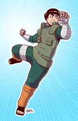 Rock Lee by Blazbaros