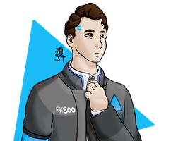 Connor Doodle by PikachuJenn