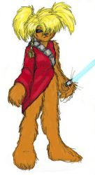 SW: Padawannabe Upari colored by Orin by Heckfire