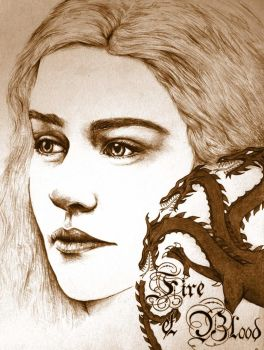 Fire and Blood by 2BrightEyes
