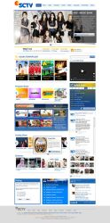 SCTV.co.id - 2012 - First Mockup by spiderio