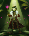 Frog Prince by PaladinPainter