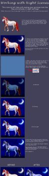 Night Time Tutorial by Crickatoo
