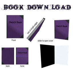 MMD Book Download by DisastrousBunny