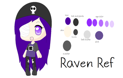 Raven Reference by roxellover101