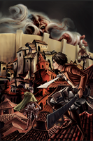 Attack on Titan (reworked project) by JessHough