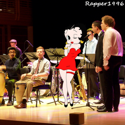 Betty at the Jazz session in University by Rapper1996