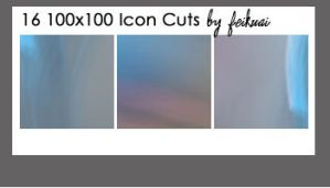 16 100x10 Icon Cuts by thexunknown