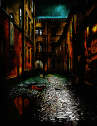 Dark Alley by rjakobson