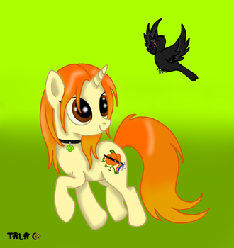 Ponysona: Autumn Muse by Demented-Day-Dreams