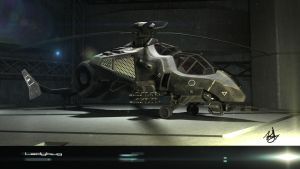 ladybug attack helicopter 2 by wilzoon