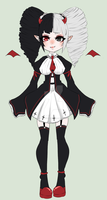 :  Lolita Demon Adopt  : ON HOLD by Stockinghime