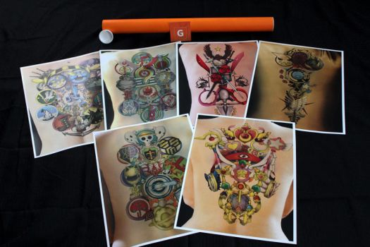 SALE: 6 Prints for $15 + Shipping by Proto-jekt